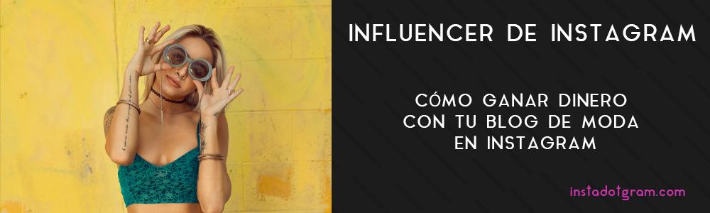 Influencer de Instagram